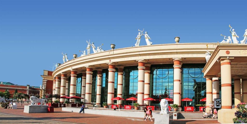Trafford Centre centro comercial Reino Unido fuente shutterstock