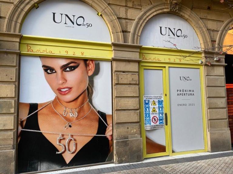 UNOde50 alquila un nuevo local en el centro de San Sebastián