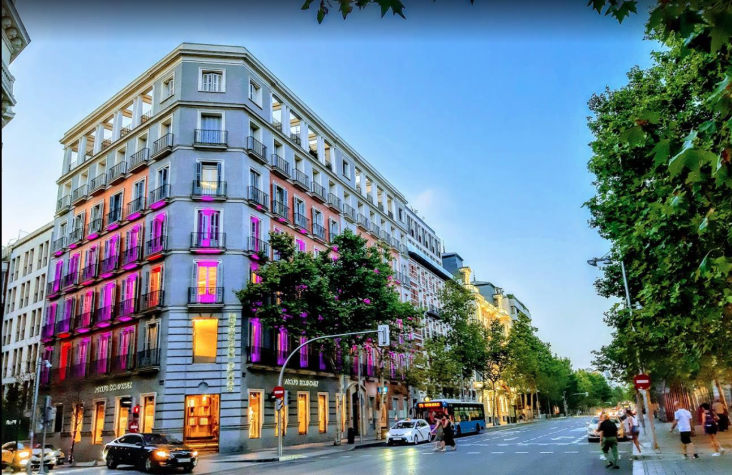 edificio en Serrano 5 Madrid fuente mutualidad de la abogacia