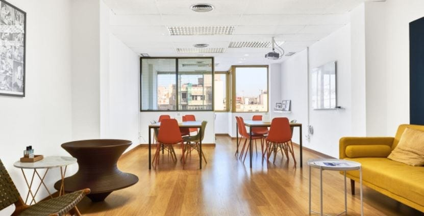 oficinas por hora fuente Sheltair