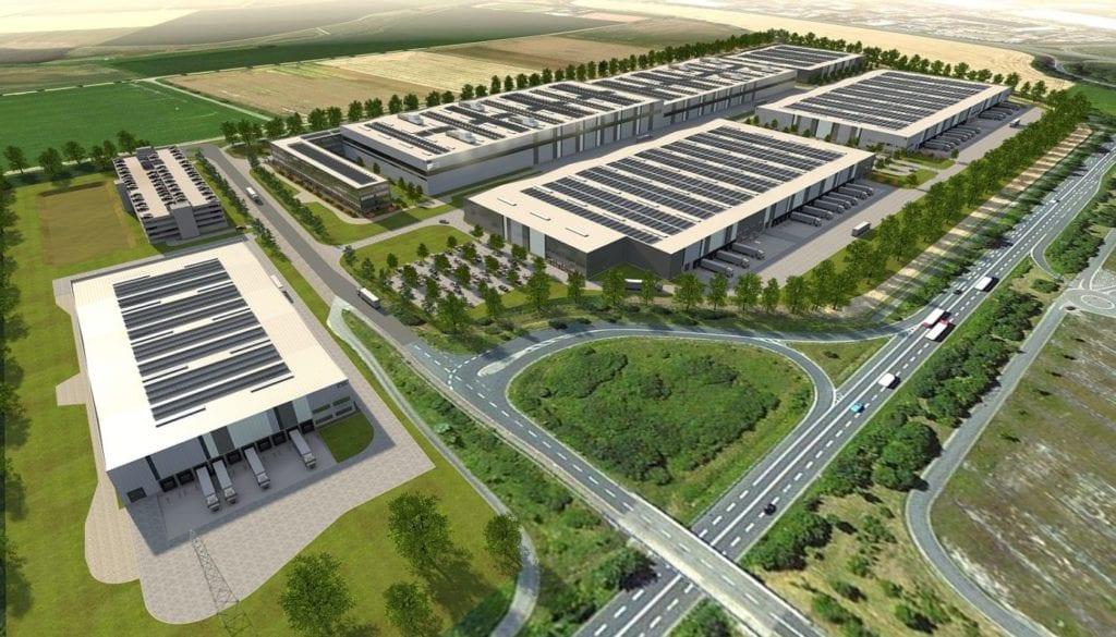 parque logistico de VPG en Hannover Alemania
