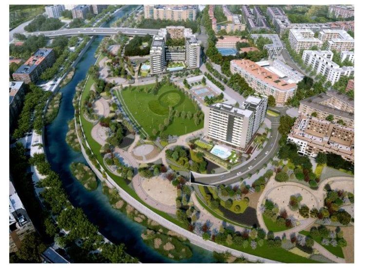 Comienzan las obras del proyecto River Park en el ámbito Ribera del Calderón