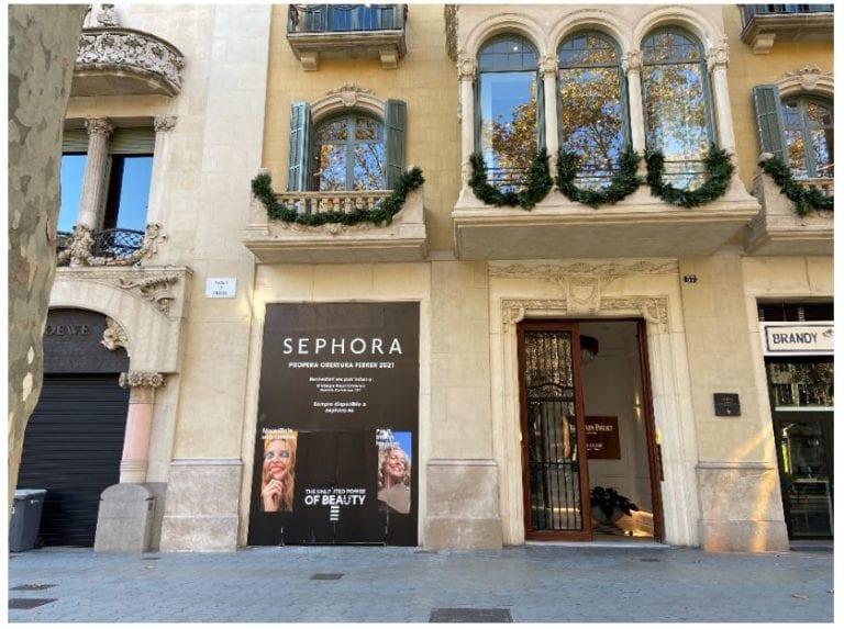 Sephora se hace con un nuevo local en pleno paseo de Gracia