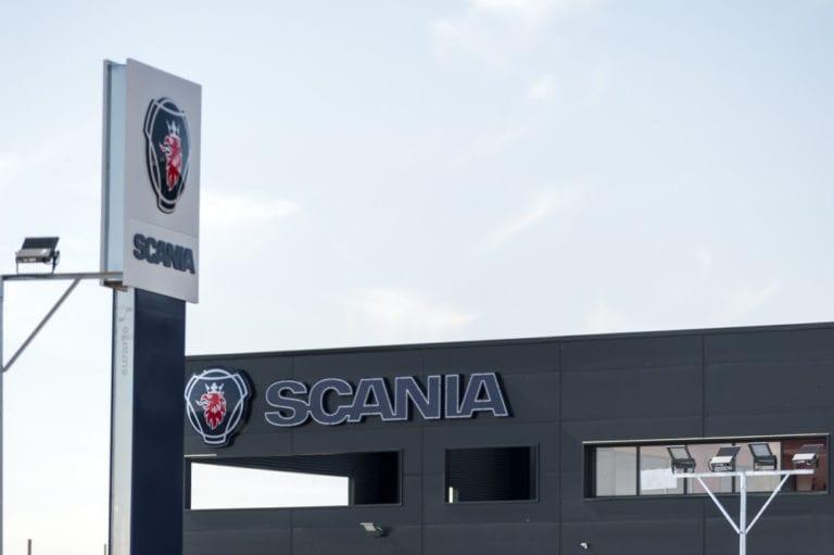 ACR finaliza la nueva sede de Scania en Madrid