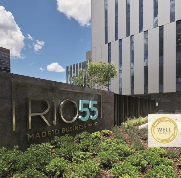 Insur recibe la certificación 'Well Gold' para su parque empresarial Río 55