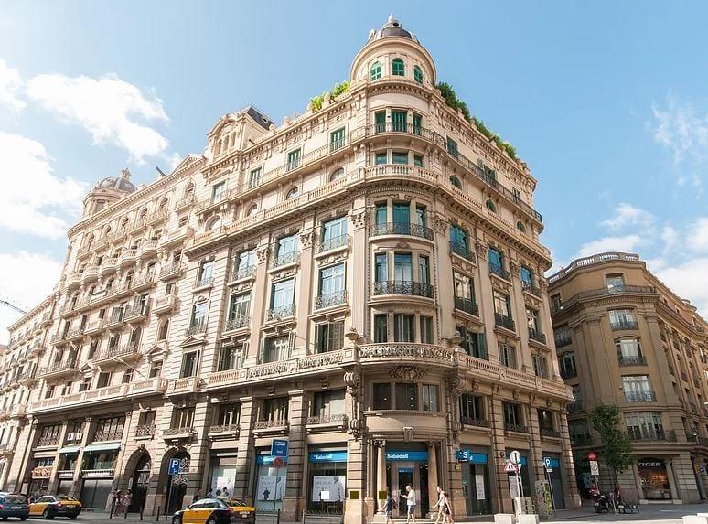 Edificio de Tander inversiones en Barcelona