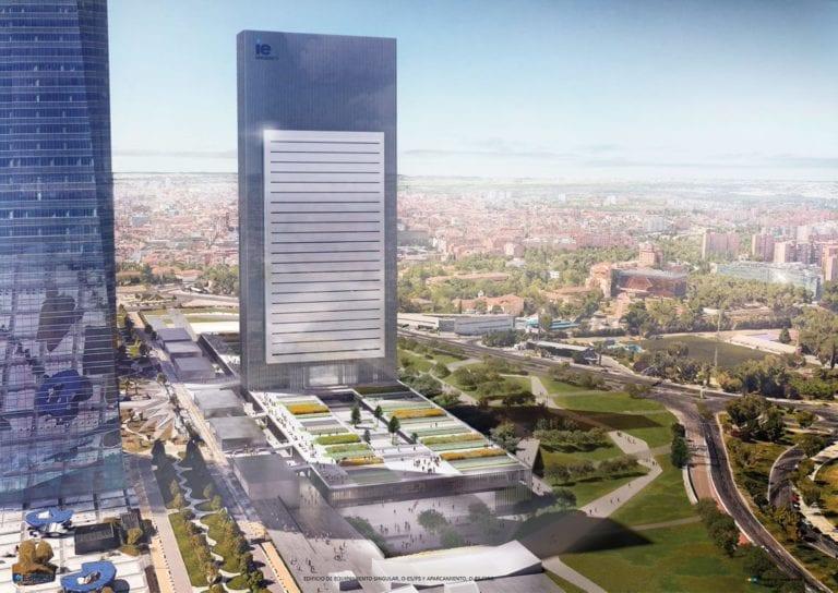 IE inaugura en septiembre su escuela de negocios en el rascacielos Caleido