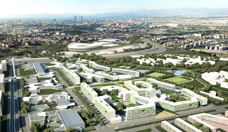 Madrid estudia convertir la antigua Villa Olímpica en un nuevo barrio residencial