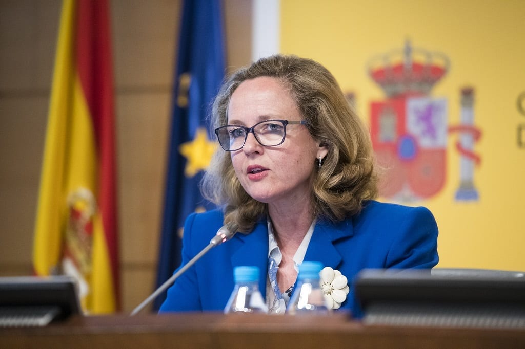 Nadia Calvino ministra de Economia asuntos economicos