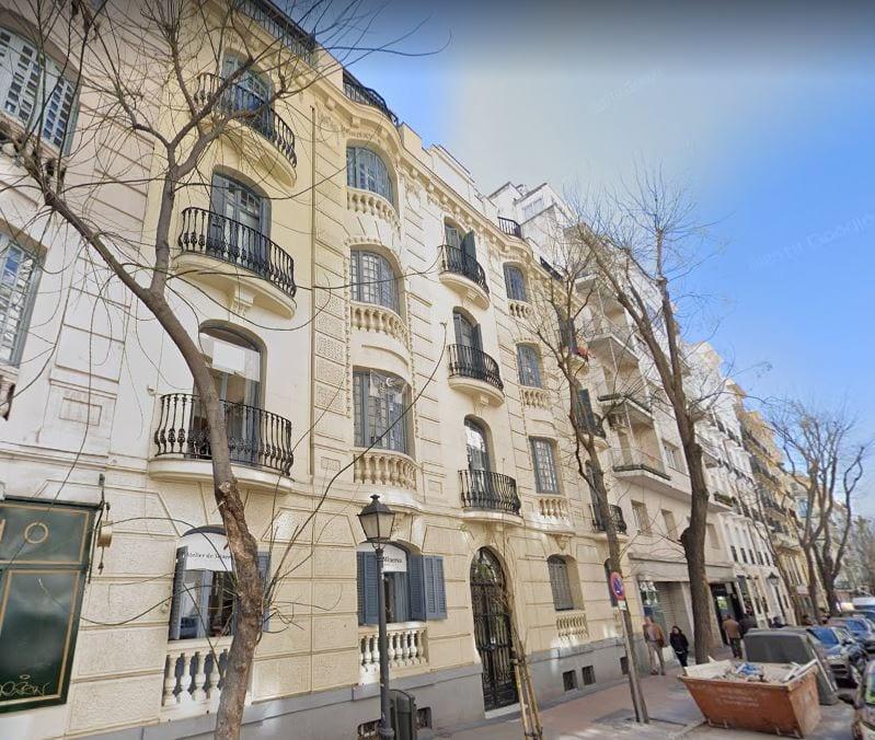 calle hermosilla 60 madrid fuente google maps
