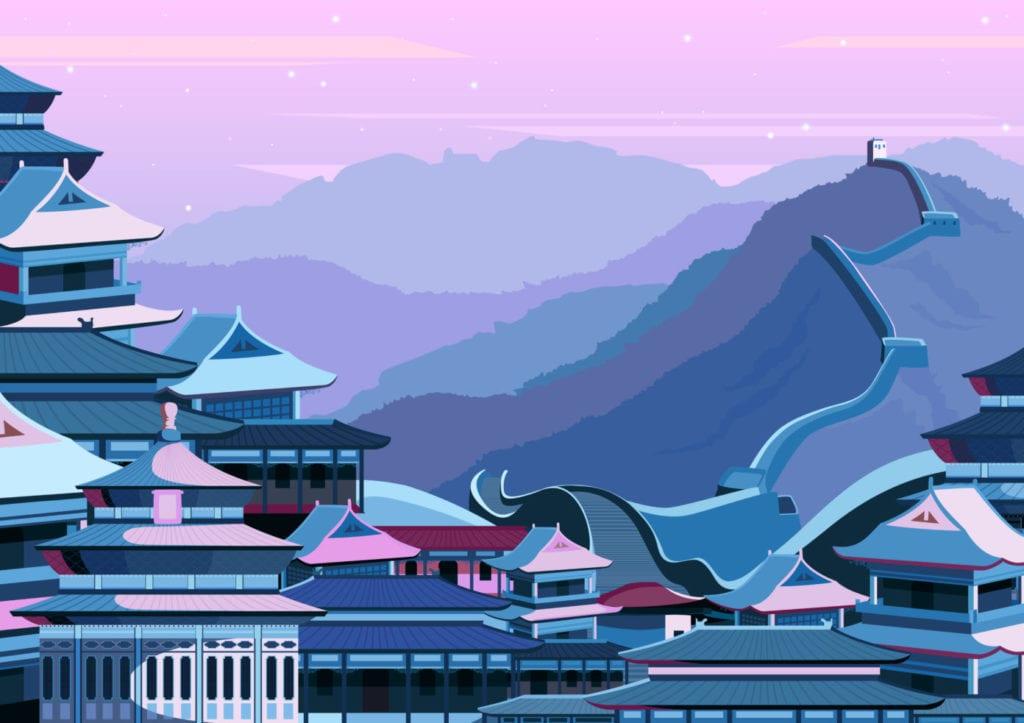 ilustracion China fuente shutterstock