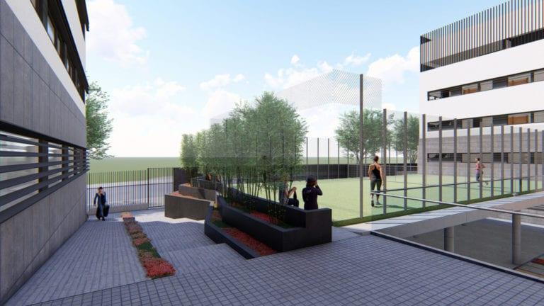 El Colegio Mayor Somosierra de la Fundación Elux reforma sus instalaciones