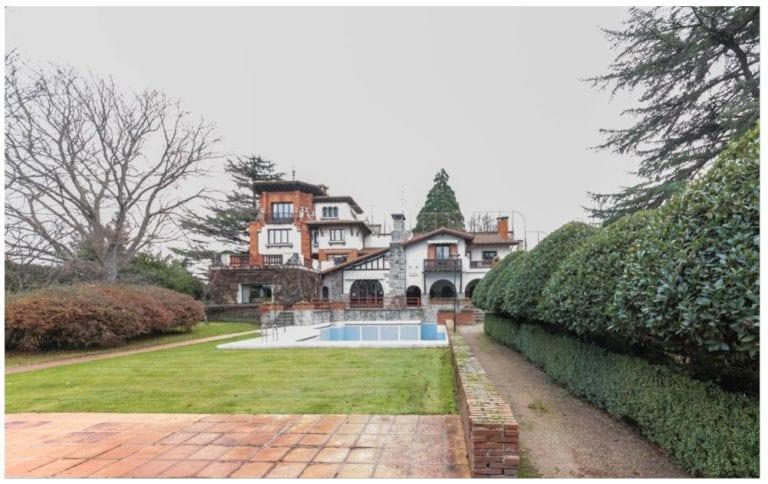 En venta la casa familiar del empresario Félix Huarte en Pamplona por 3,6 millones