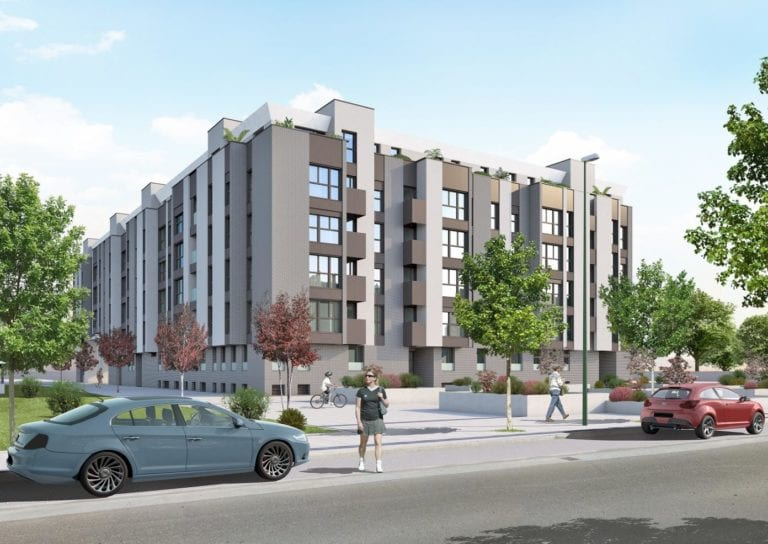 Sareb encarga a Aelca la venta de 83 viviendas de obra nueva en Burgos