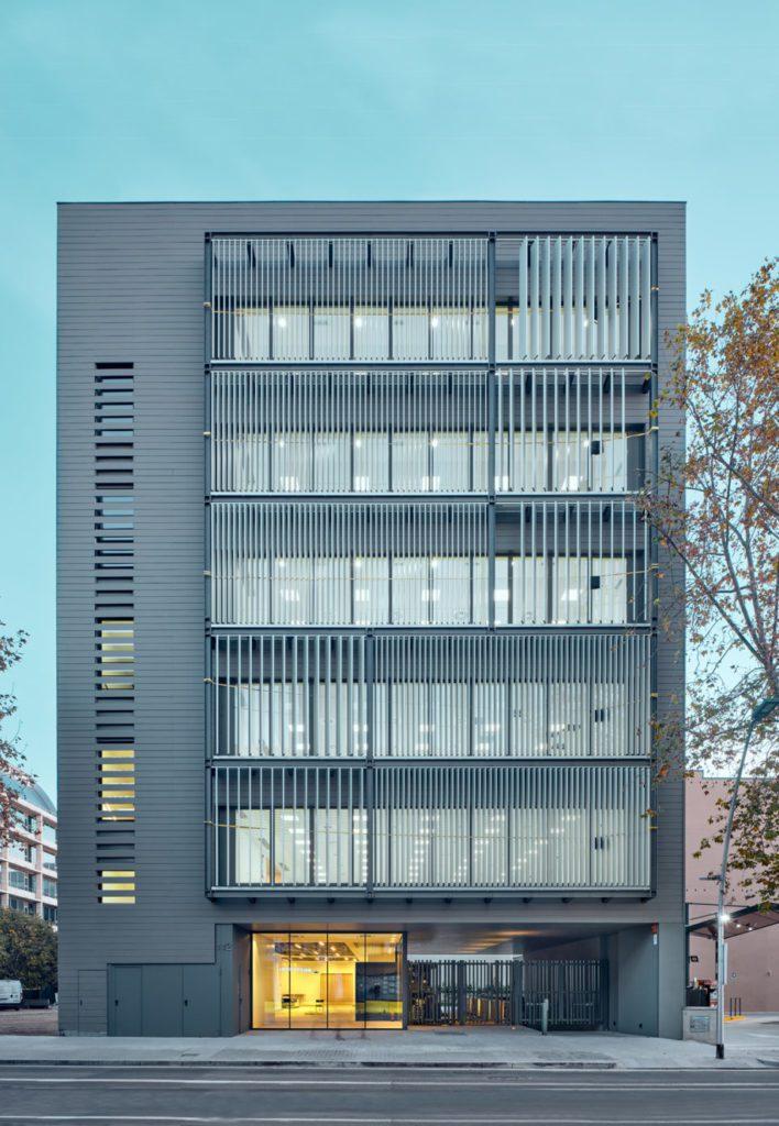 Edificio construido por Renta Corporacion en 22@