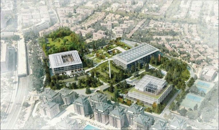 Acciona y el Ayuntamiento de Madrid estudian crear un nuevo complejo deportivo en el antiguo Campus de Banesto