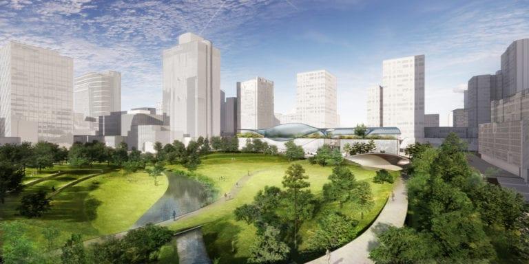 Los arquitectos Diller Scofidio + Renfro, GP + B y B720 renovarán el centro financiero de Madrid