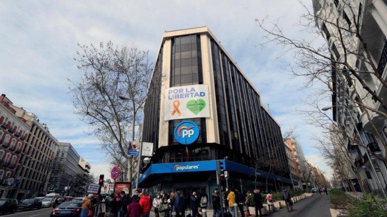 Fondos de inversión pujan por la sede del PP por su posible reconversión a viviendas