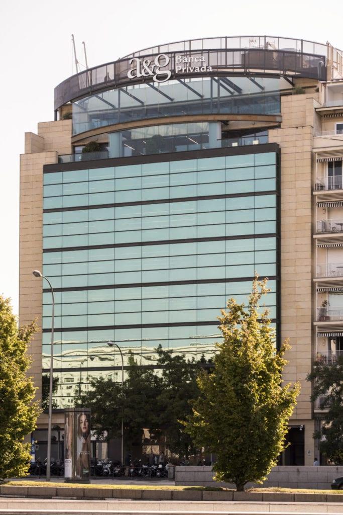 edificio oficinas Castellan 92 de Pontegadea fuente Savills