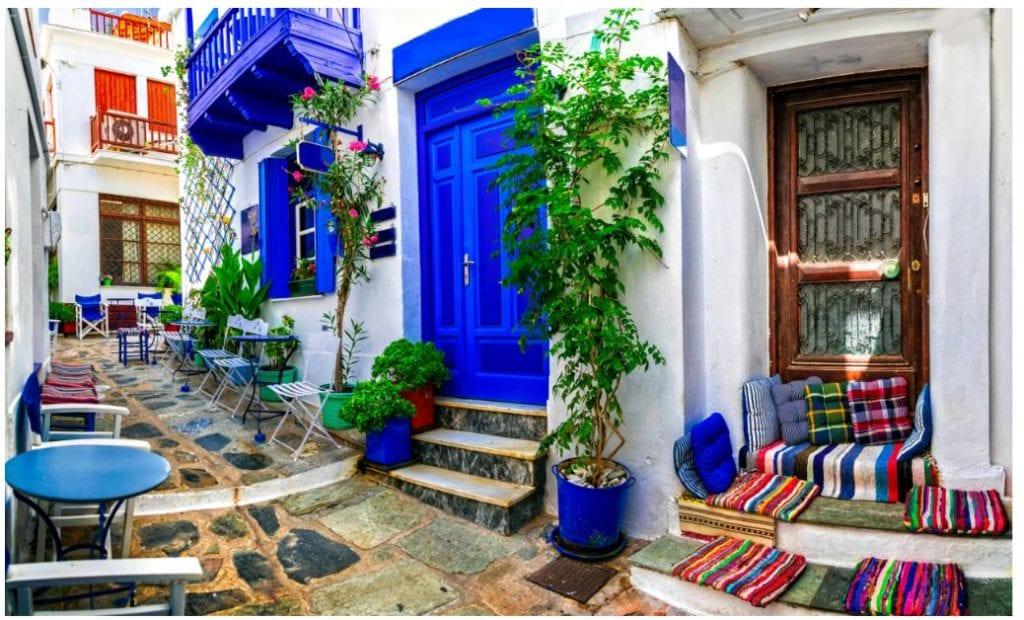 grecia calle tipica 1