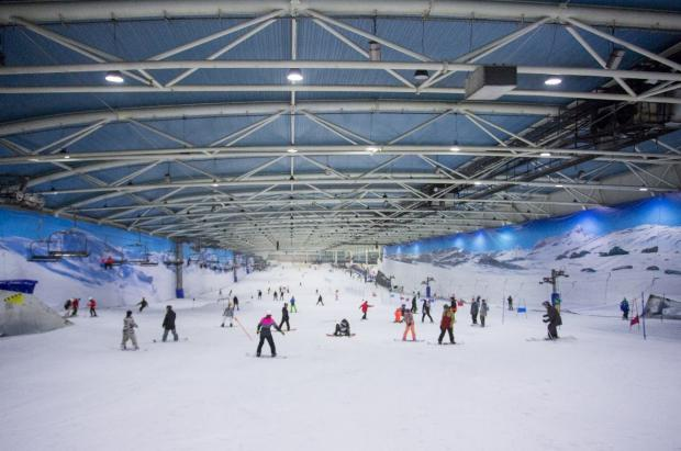Snozone adquiere la estación de esquí indoor del centro Intu Xanadú