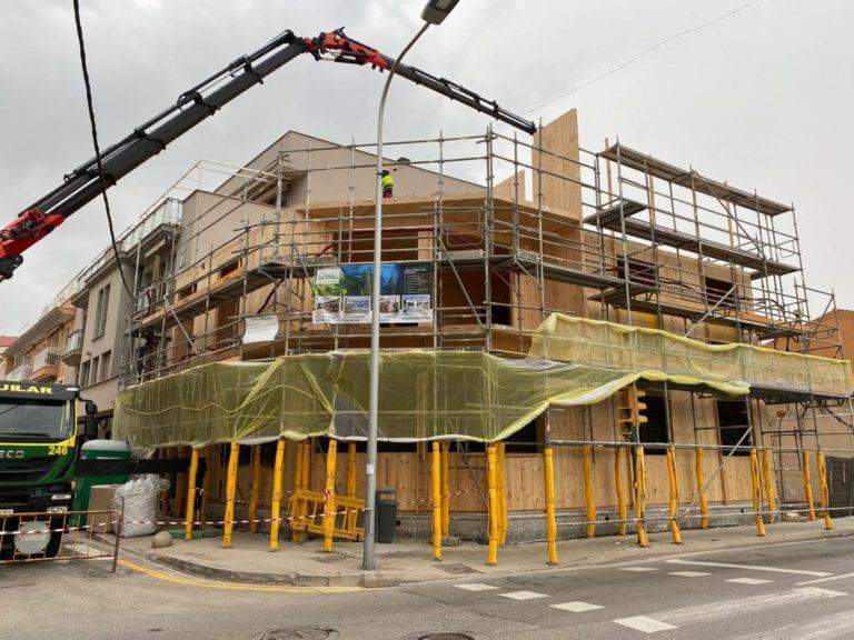 House Habitat construye un edificio con madera en Baleares
