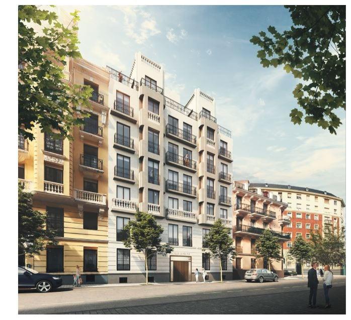 Las viviendas proyectadas por el estudio Nieto Sobejano se ponen en venta en Barrio de Salamanca