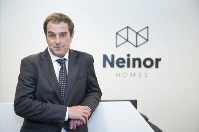 Neinor Homes coloca 300 millones en bonos al 4,5% y a cinco años