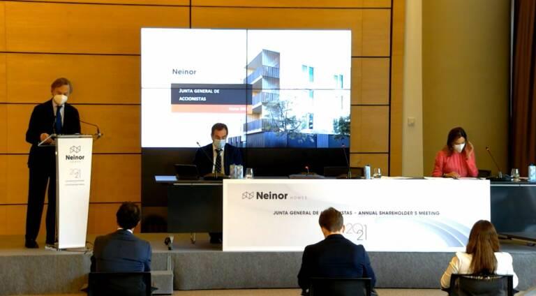 Los accionistas de Neinor aprueban la ampliación de capital para absorber a Quabit