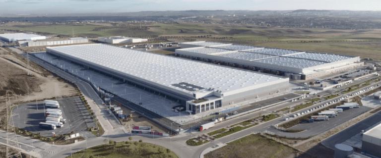 Mountpark alquila a Carreras el centro logístico más grande construido a riesgo en España