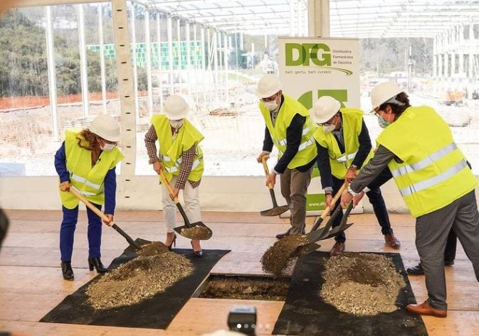 DFG inicia la construcción de su nuevo centro logístico en San Sebastián