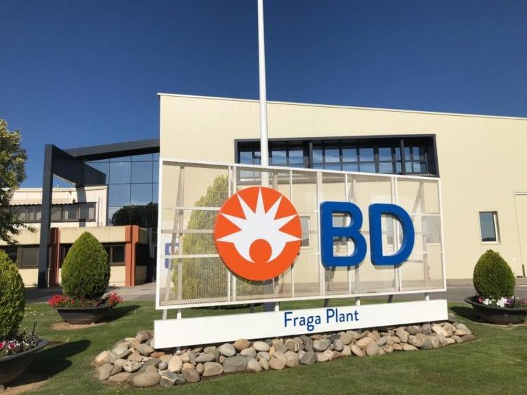 Becton Dickinson invertirá 165 millones en una nueva planta de producción en Zaragoza