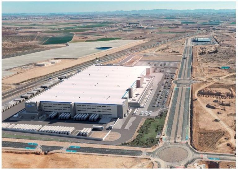 Amazon suma un nuevo centro logístico en Murcia de 160.000 m2