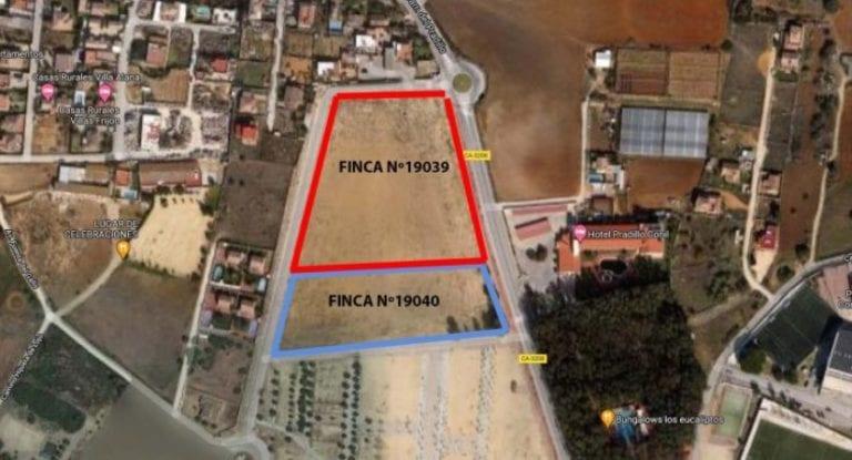 Asemar subasta 2 parcelas para viviendas en Conil de la Frontera