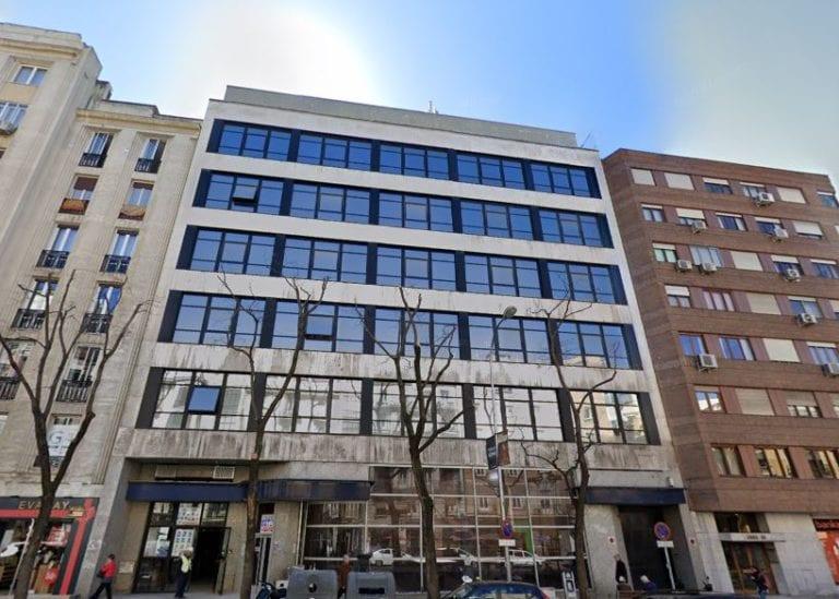 WeWork cancela su proyecto en Goya 36 y pone a la venta el edificio junto a Excem y Merlin