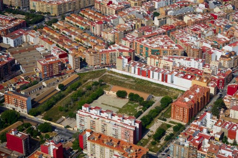 Se inician las obras de urbanización de los terrenos en desuso del Cuartel de Ingenieros de Valencia