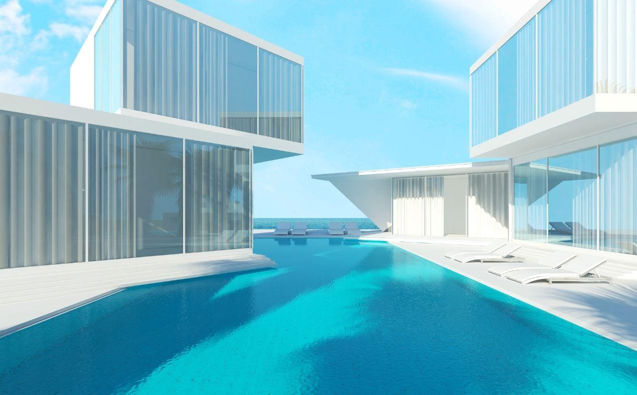 ilustracion vivienda piscina fuente shutterstock