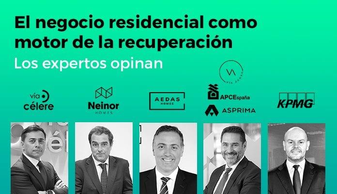 Brainsre.news reúne a los mayores expertos para hablar de 'El negocio residencial como motor de la recuperación'