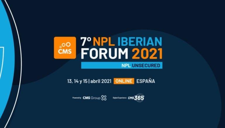 CMS organiza la 7ª edición del NPL Iberian Forum Unsecured, el evento para expertos en créditos