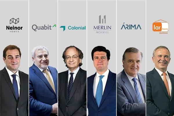 Los directivos inmobiliarios ganan 13 millones de euros en el año del Covid