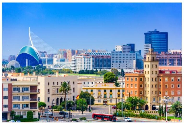 La contratación de oficinas en Valencia cae un 37% según BNP Paribas RE