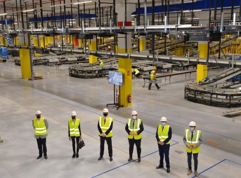 Amazon abrirá en otoño su nuevo centro logístico robotizado en Murcia