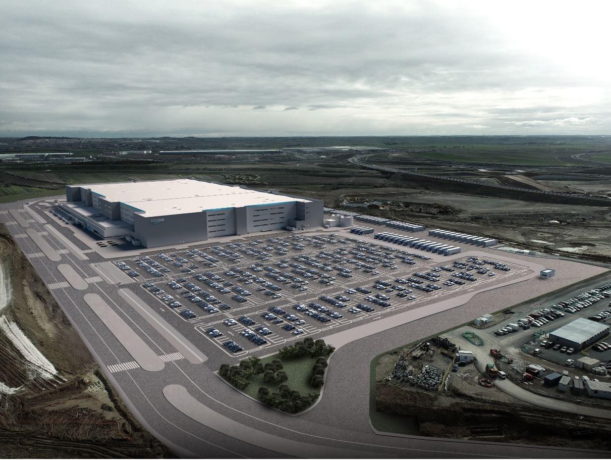 Nuevo centro logistico de Amazon en Ilescas
