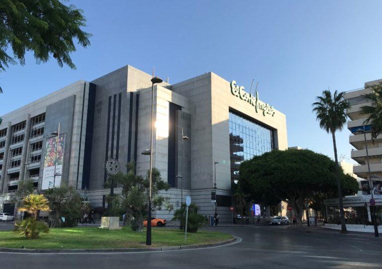 El Corte Inglés alquila parte de su centro de Marbella para abrir oficinas de teletrabajo