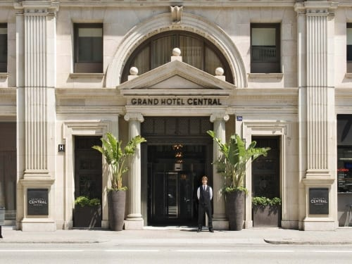 El grupo Único vende el Grand Hotel Central de Barcelona a York Capital por 85 millones