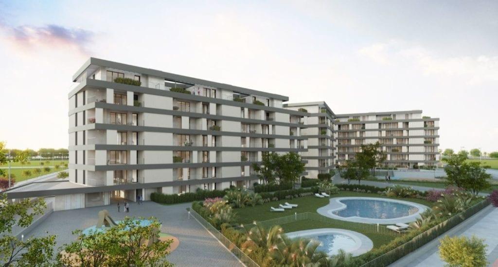 promocion viviendas habitat inmobiliaria domus