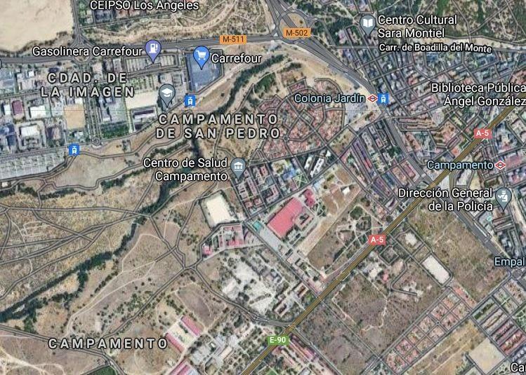 Defensa saca a subasta un suelo por 12 millones cerca de la Operación Campamento