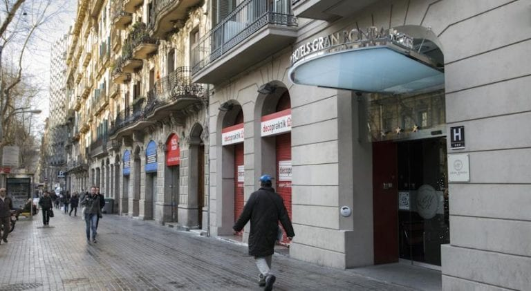All Iron compra el hotel Gran Ronda en Barcelona por 15,4 millones para construir 38 apartamentos