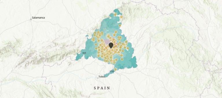 ¿Dónde está la obra nueva en Madrid?