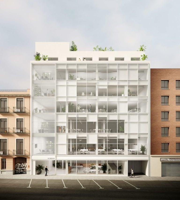 Tétris rehabilita un edificio de oficinas del Madrid postCovid